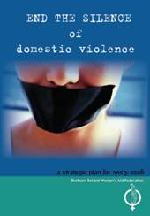 end the silence of domestic violence - image of new strategy